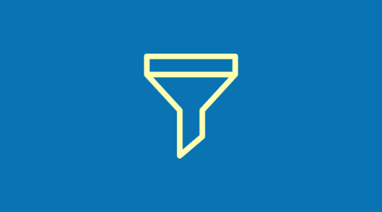 funnel icon for landing pages