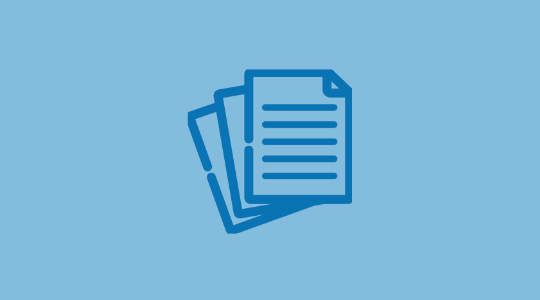 Product sheet icon